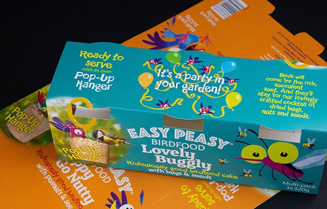 Easy peasy printed carton